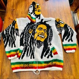 Other - Bob Marley Reggae Jamaica Wool Jacket
